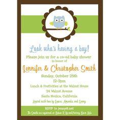 co-ed invitation