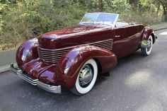 Cord 812 with Crest Hood Ornament. Though Oklahoman Glenn Pray purchased all the assets of the defunct Cord and Auburn automobile companies - including the righ Cord Automobile, Automobile Companies, Duesenberg Car, Vintage Cars, Antique Cars, Convertible, Auburn Car, Cord Car, Pedal Cars