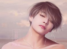 BTS (방탄소년단) Fanart Like the real thing Taehyung Fanart, V Taehyung, Namjoon, Taekook, Yoonmin, Bts Anime, Anime Guys, Kpop Drawings, Bts Chibi
