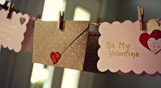 Valentine's Day Garland DIY | AllFreeHolidayCrafts.com