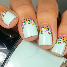 Trendy Designs for Short Square Nails 2018 - Nails C