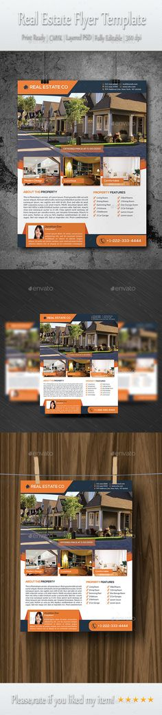 Buy Real Estate Flyer Template by Elitely on GraphicRiver. Real Estate Marketing Flyer Template Are you a realtor? A real estate agent? Are you looking for a promotional flyer . Real Estate Ads, Real Estate Flyers, Real Estate Business, Real Estate Marketing, Real Estate Banner, Magazine Ideas, Real Estate Flyer Template, Leaflet Design, California Real Estate