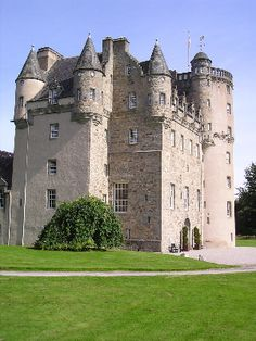 Castle Fraser Aberdeenshire in Scotland: http://www.europealacarte.co.uk/blog/2011/03/20/castles-europe/