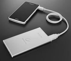 Sony's svelte external battery looks like a smartphone | Crave - CNET