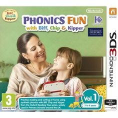 Phonics Fun With Biff Chip & Kipper Volumes 1 3DS Game | http://gamesactions.com shares #new #latest #videogames #games for #pc #psp #ps3 #wii #xbox #nintendo #3ds