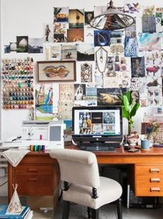 Behind every successful woman...is a killer inspiration board, or so we've found. https://www.onekingslane.com/live-love-home/coral-and-tusk-studio-tour/