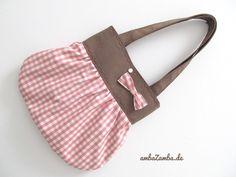 Ballontasche SÜßE PRALINE Schultertasche Tasche