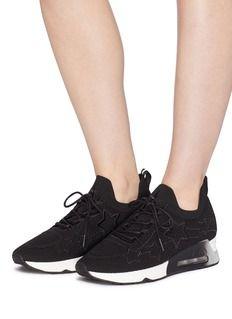90a1b0d4d9e0f Ash  Lunatic Star  appliqué knit sneakers Knit Sneakers