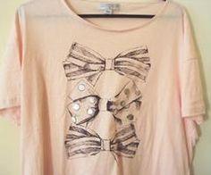 cute bow shirt