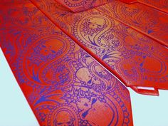 Mens Neck Tie Paisley Skull tie 30 percent off, $20.00 each while supply last