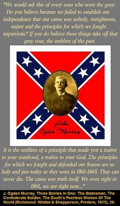 AMEN!!!!!!!!!!!!!!!!!!!!!!!!!!!!!!!!!!!!!SPEAKS FOR ITSELF!!!!!!!!!!!!!LISTEN TO IT OH SEEKER OF THE TRUTH OF THE SO-CALLED 'CIVIL WAR!'