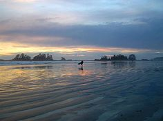 Tofino, British Columbia-One of the places we went on our honeymoon-June 2008. Felt like the edge of the world...