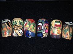 Day 125: Cinco De Mayo Nail Art - - NAILS Magazine