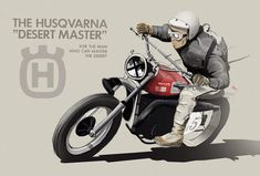 The legend Malcolm Smith on his Husky - Before After DIY Motorcycle Posters, Motorcycle Wheels, Motorcycle Style, Motorcycle Design, Bike Design, Norton Motorcycle, Husky, Bike Sketch, Bike Illustration
