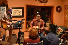 Greg Burton House Concert in Strafford, PA November 2013