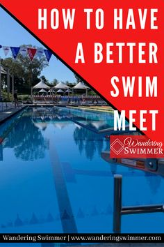 Not dropping time at swim meets? it's time to look into making a change! Certain habits can help increase your chances at having a better swim meet. Swim Meet, Make A Change, Swimming, Sports, Swim, Hs Sports, Sport