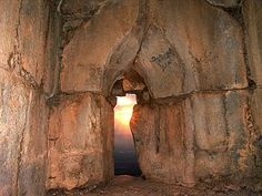 The al-Subayba (Nimrod) Fortress at sunset, the Golan Heights, Israel