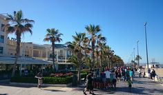 Boulevard of Playa l