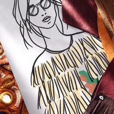 A glimpse at the #Burberry Autumn/Winter 2015 collection, revealed on Monday at 1pm London time #LFW #Cinemagraph Burberry Sketch