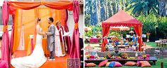 great color for mandap