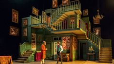 "THIS SET THO OMG NTLive 2015: ""The Beaux' Stratagem"" (""Strategia gołych kawalerów"") by George Farquhar. Directed by Simon Godwin."