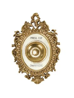 Press For Champagne, Gold Kitchen, Brooch, Note, Jewelry, Products, Champagne, Home Decor Accessories, Dekoration