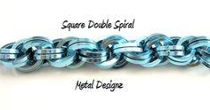 Square Double Spiral Bracelet Kit