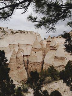 Kasha-Katuwe Tent Rocks National Monument ~ New Mexico - USA
