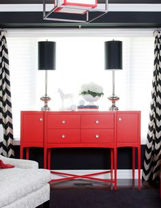 Glorious glamorous RED