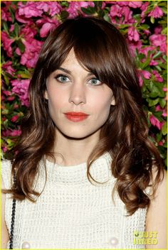 Alexa Chung hit the red carpet at the Chanel Artists - Love her hair!