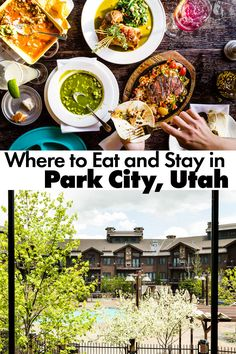 Where to Eat and Stay Park City, Utah. Your guide for visiting and eating at the best restaurants in the beautiful mountain town of Park City, Utah. Park City Utah Summer, Park City Restaurants, Scenic Photography, Night Photography, Landscape Photography, Visit Utah, Love Park, Mountain Vacations, Yosemite National Park