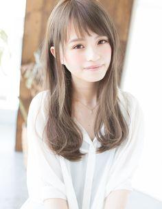 髪が柔らかく見えるロング(KY-160) | ヘアカタログ・髪型・ヘアスタイル|AFLOAT(アフロート)表参道・銀座・名古屋の美容室・美容院