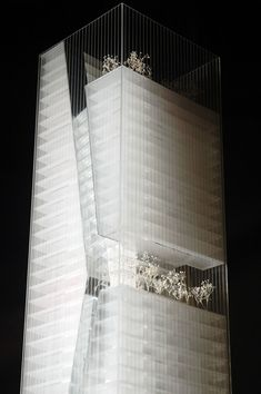 Guosen Securities Tower / Massimiliano & Doriana Fuksas - Architectural Model