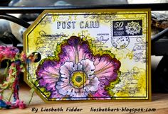 Liesbeth's Arts & Crafts: Post Card