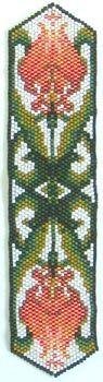 Silverhill Design - Bead Pattern for Art Nouveau Flowers