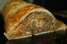 Cresant roll meat loaf