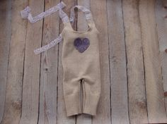 Newborn Girl Romper Lavender Valentine Upcycle Baby Photo Prop Ready to ship RTS    These beautiful overall is made with super soft upcycle