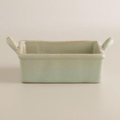 One of my favorite discoveries at WorldMarket.com: Small Square Botanist Baker