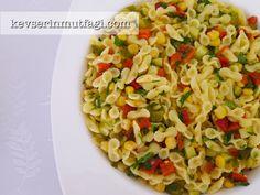 Makarna Salatası Tarifi - Kevser'in Mutfağı - Yemek Tarifleri