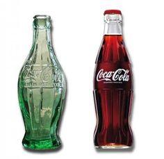 Coke bottle redesigned by Raymond Loewy