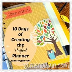10 Days of Creating The Perfect Planner Day 4: Choosing Tabs & Dividers // I'm very picky about my planner(s). Making my own might be an option.