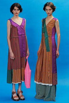 Marc Jacobs Resort '13... They look like they're wearing something by a blind, Amish seamstress