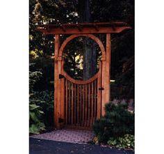 Cedar Pergola - Home and Garden Design Ideas