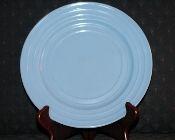 Hazel Atlas Moderntone Platonite Blue Dinner Plates