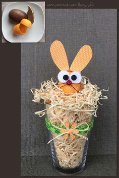 Decoration pour Pâques avec un Kinder surprise http://pinterest.com/fleurysylvie/mes-creas-pour-les-kids/ et www.toutpetitrien.ch