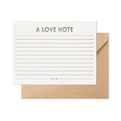A Love Note | Sugar Paper Los Angeles