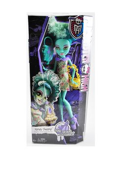 Monster High Gore-geous Accessories Honey Swamp In Box