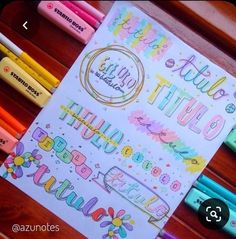Bullet Journal Titles, Bullet Journal Cover Ideas, Bullet Journal Banner, Bullet Journal Lettering Ideas, Journal Fonts, Bullet Journal Notebook, Bullet Journal Aesthetic, Bullet Journal School, Bullet Journal Inspiration
