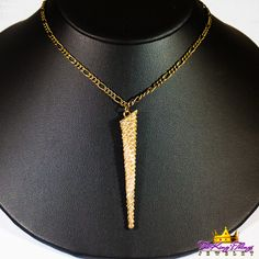 7-1. Icicle Pendant Bronze Runway Necklace Our new runway jewelry on ETSY: https://www.etsy.com/shop/TheKingsThings