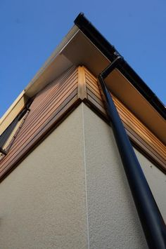 Cedar corner detail